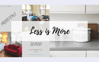 Less is More Decluttering & Organising Service