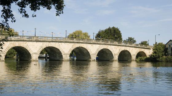 Maidenhead Bridge over the River Thames