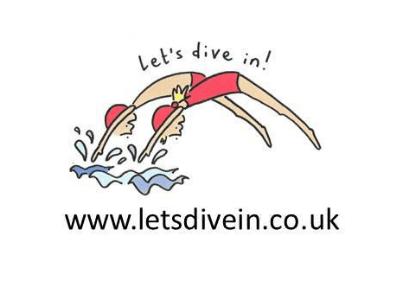 Let's Dive in! Logo of Maidenhead Swim School