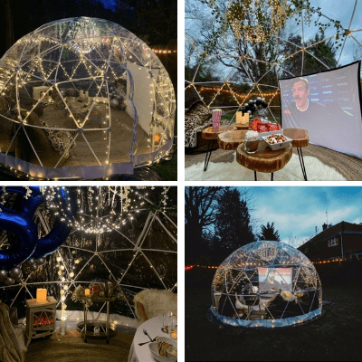 The igloo Inn Events and Entertainment Domes