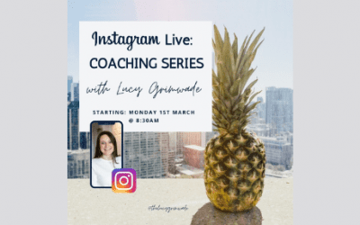 Instagram Live Coaching Series with Lucy Grimwade