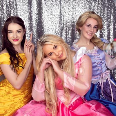 Snow Princess Parties, Princess Characters