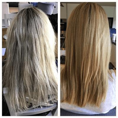 Emma Stewart Hair Stylist keratin blowdry and extensions