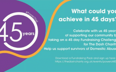 The Dash Charity 45 Day Fundraising Challenge