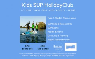 Kids Holiday SUP Club
