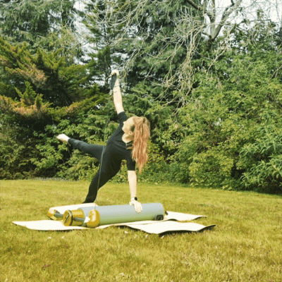 Coz Pilates in the Park