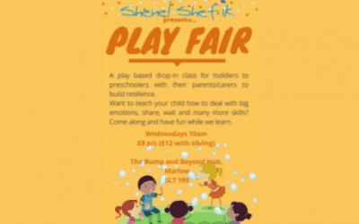 Play Fair at The Bump and Beyond Hub