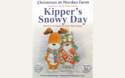 Christmas at Norden Farm: Kipper's Snowy Day