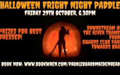 Halloween Fright Night Paddle